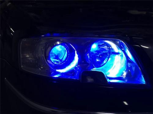 汽车LED贴片灯珠前灯LED3030灯珠蓝光