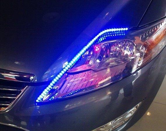 汽车LED灯条5050贴片使用案例