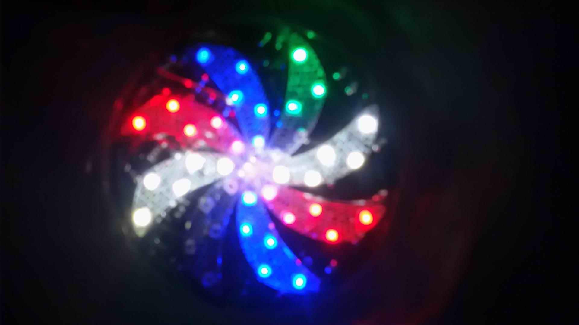 摩托车炫彩车轮LED2835贴片灯珠