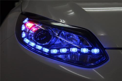 汽车前灯LED5050贴片灯珠案例